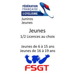 Licences Jeune
